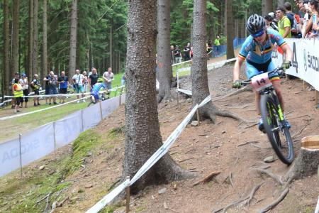 Githa Michiels at UCI MTB WORLD CHAMPIONSHIPS - XCO/XCE (2016)