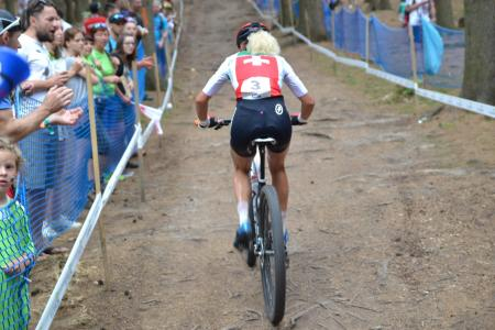Jolanda Neff at UCI MTB WORLD CHAMPIONSHIPS - XCO/XCE (2016)