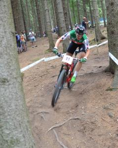 Linda Indergand at UCI MTB WORLD CHAMPIONSHIPS - XCO/XCE (2016)