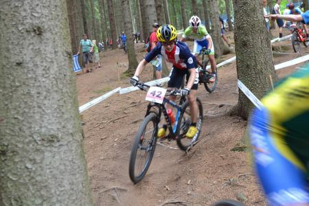 Mary McConneloug at UCI MTB WORLD CHAMPIONSHIPS - XCO/XCE (2016)