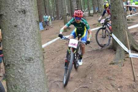 Raiza Goulao Henrique at UCI MTB WORLD CHAMPIONSHIPS - XCO/XCE (2016)