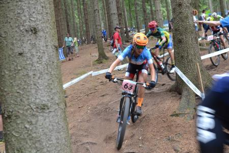 Rebecca Beaumont at UCI MTB WORLD CHAMPIONSHIPS - XCO/XCE (2016)