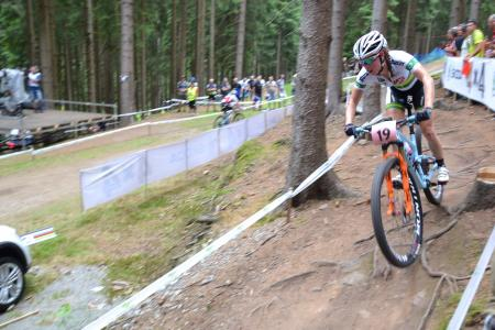 Rebecca McConnell at UCI MTB WORLD CHAMPIONSHIPS - XCO/XCE (2016)