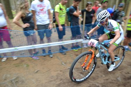 Rebecca Henderson at UCI MTB WORLD CHAMPIONSHIPS - XCO/XCE (2016)