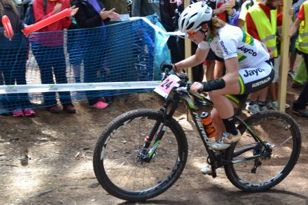 Holly Harris at UCI MTB WORLD CHAMPIONSHIPS - XCO/XCE (2016)