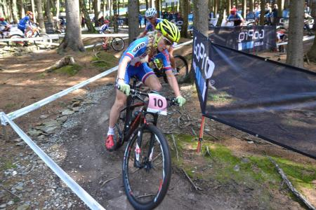 Jana Czeczinkarova at UCI MTB WORLD CHAMPIONSHIPS - XCO/XCE (2016)