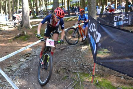 880fdfc3a21 ... Kate Courtney at UCI MTB WORLD CHAMPIONSHIPS - XCO/XCE (2016)