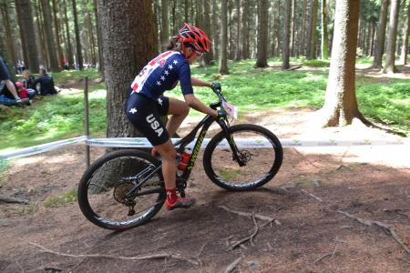 c773d390d54 Kate Courtney at UCI MTB WORLD CHAMPIONSHIPS - XCO/XCE (2016)