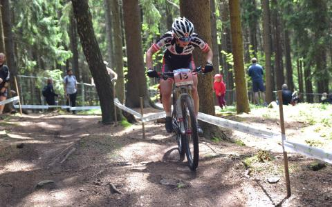 Nadja Heigl at UCI MTB WORLD CHAMPIONSHIPS - XCO/XCE (2016)