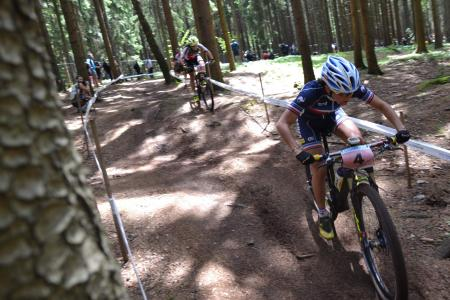Perrine Clauzel at UCI MTB WORLD CHAMPIONSHIPS - XCO/XCE (2016)