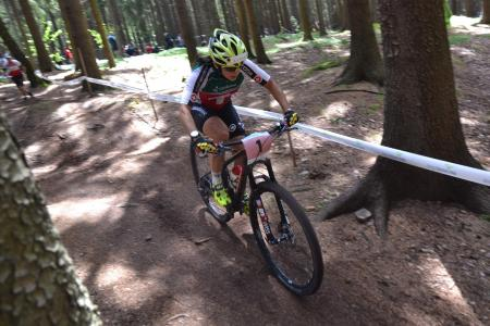 Ramona Forchini at UCI MTB WORLD CHAMPIONSHIPS - XCO/XCE (2016)