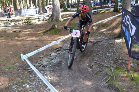 Yossiana Quintero at UCI MTB WORLD CHAMPIONSHIPS - XCO/XCE (2016)