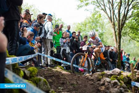 Jolanda Neff at UCI MTB WORLD CUP - XCO La Bresse (2016)