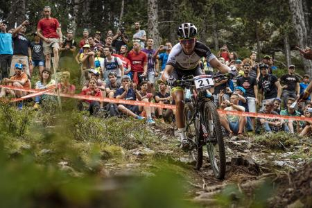Ondrej Cink at UCI MTB WORLD CUP Andorra - XCO - DHI (2016)