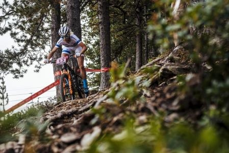 Jolanda Neff at UCI MTB WORLD CUP Andorra - XCO - DHI (2016)