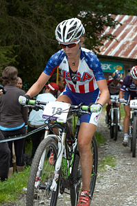 Heather Irmiger at World Championships (2011)