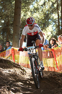 Christoph Sauser at UCI XCO/XCE WORLD CHAMPIONSHIPS - Saalfelden (2012)