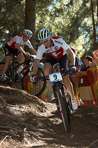 Florian Vogel at UCI XCO/XCE WORLD CHAMPIONSHIPS - Saalfelden (2012)