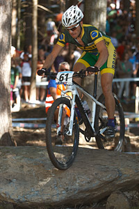 Henrique Avancini at UCI XCO/XCE WORLD CHAMPIONSHIPS - Saalfelden (2012)