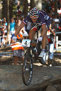 Julien Absalon at UCI XCO/XCE WORLD CHAMPIONSHIPS - Saalfelden (2012)