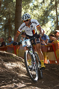 Manuel Fumic at UCI XCO/XCE WORLD CHAMPIONSHIPS - Saalfelden (2012)