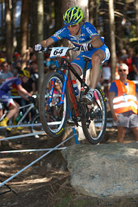 Martino Fruet at UCI XCO/XCE WORLD CHAMPIONSHIPS - Saalfelden (2012)