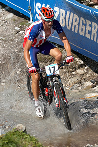 Todd Wells at UCI XCO/XCE WORLD CHAMPIONSHIPS - Saalfelden (2012)