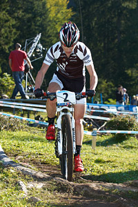 Anton Cooper at UCI XCO/XCE WORLD CHAMPIONSHIPS - Saalfelden (2012)