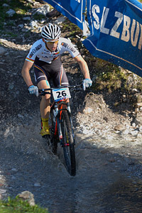 Ben Zwiehoff at UCI XCO/XCE WORLD CHAMPIONSHIPS - Saalfelden (2012)