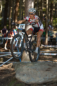 Antoine Caron at UCI XCO/XCE WORLD CHAMPIONSHIPS - Saalfelden (2012)