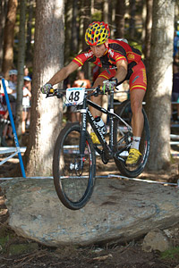 Cristofer Bosque Ruano at UCI XCO/XCE WORLD CHAMPIONSHIPS - Saalfelden (2012)