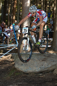 Ivan Smirnov at UCI XCO/XCE WORLD CHAMPIONSHIPS - Saalfelden (2012)