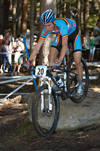 Jeff Luyten at UCI XCO/XCE WORLD CHAMPIONSHIPS - Saalfelden (2012)