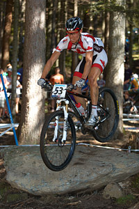 Jeremy Martin at UCI XCO/XCE WORLD CHAMPIONSHIPS - Saalfelden (2012)