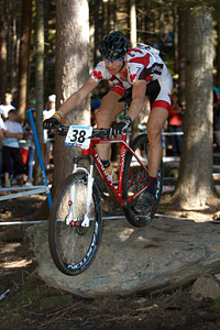 Leandre Bouchard at UCI XCO/XCE WORLD CHAMPIONSHIPS - Saalfelden (2012)