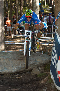 Lorenzo Samparisi at UCI XCO/XCE WORLD CHAMPIONSHIPS - Saalfelden (2012)