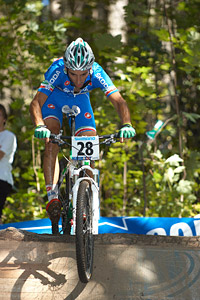 Nicholas Pettina at UCI XCO/XCE WORLD CHAMPIONSHIPS - Saalfelden (2012)