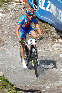 Ondrej Cink at UCI XCO/XCE WORLD CHAMPIONSHIPS - Saalfelden (2012)