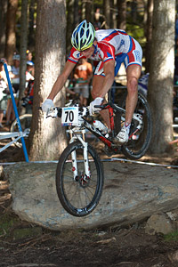 Pavel Priadein at UCI XCO/XCE WORLD CHAMPIONSHIPS - Saalfelden (2012)