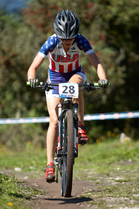 Heather Irmiger at UCI XCO/XCE WORLD CHAMPIONSHIPS - Saalfelden (2012)