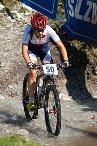 Joana Barbosa at UCI XCO/XCE WORLD CHAMPIONSHIPS - Saalfelden (2012)