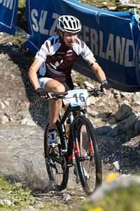 Karen Hanlen at UCI XCO/XCE WORLD CHAMPIONSHIPS - Saalfelden (2012)