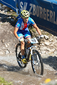 Kateřina Nash at UCI XCO/XCE WORLD CHAMPIONSHIPS - Saalfelden (2012)