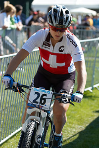 Kathrin Stirnemann at UCI XCO/XCE WORLD CHAMPIONSHIPS - Saalfelden (2012)