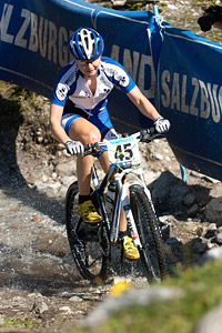 Maaris Meier at UCI XCO/XCE WORLD CHAMPIONSHIPS - Saalfelden (2012)