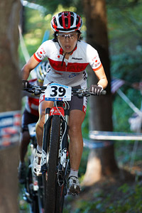 Rie Katayama at UCI XCO/XCE WORLD CHAMPIONSHIPS - Saalfelden (2012)