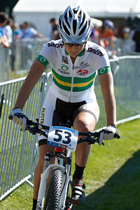 Rowena Fry at UCI XCO/XCE WORLD CHAMPIONSHIPS - Saalfelden (2012)