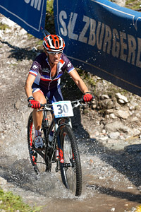 Sabrina Enaux at UCI XCO/XCE WORLD CHAMPIONSHIPS - Saalfelden (2012)