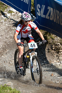 Sandra Walter at UCI XCO/XCE WORLD CHAMPIONSHIPS - Saalfelden (2012)