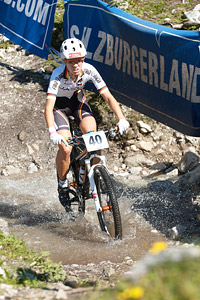 Silke Schmidt at UCI XCO/XCE WORLD CHAMPIONSHIPS - Saalfelden (2012)